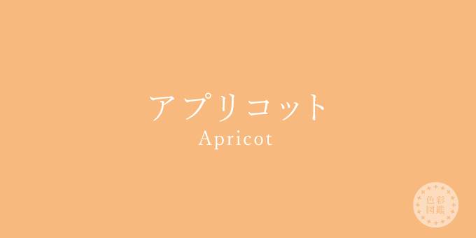 アプリコット(Apricot)の色見本