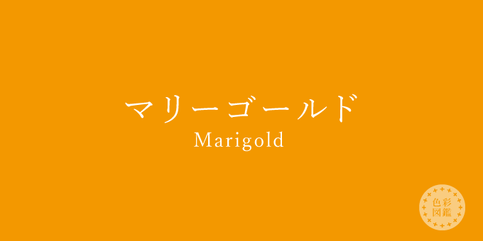マリーゴールド(Marigold)の色見本