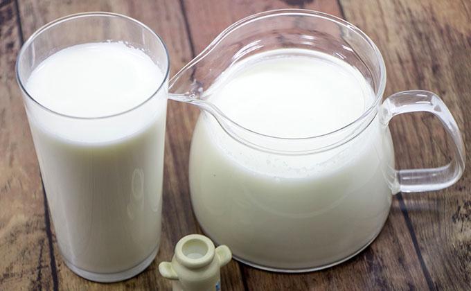 ミルクの色