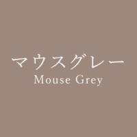 マウスグレー(Mouse Grey)の色見本
