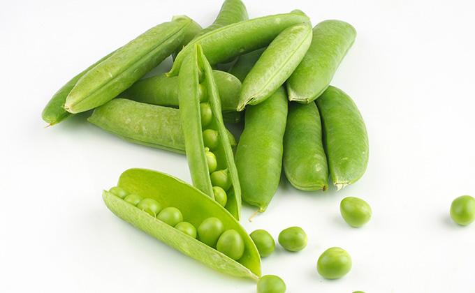 エンドウ豆の色