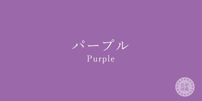 パープル(Purple)の色見本