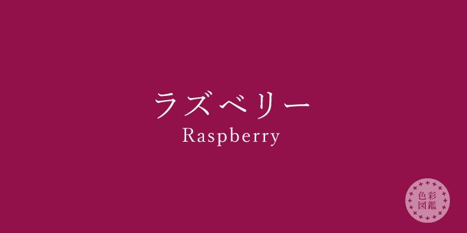 ラズベリー(Raspberry)の色見本