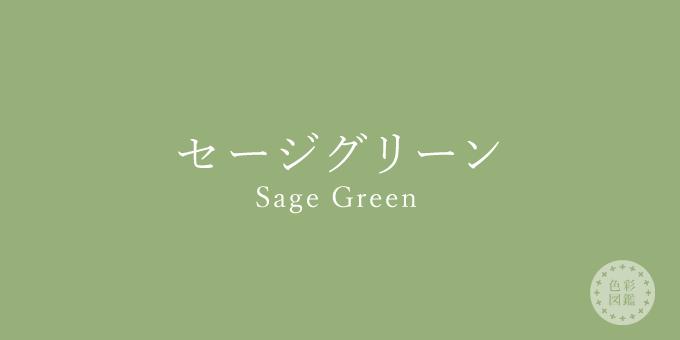 セージグリーン(Sage Green)の色見本