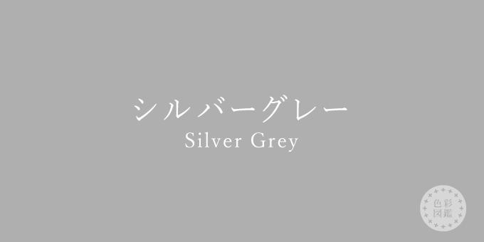 シルバーグレー(Silver Grey)の色見本