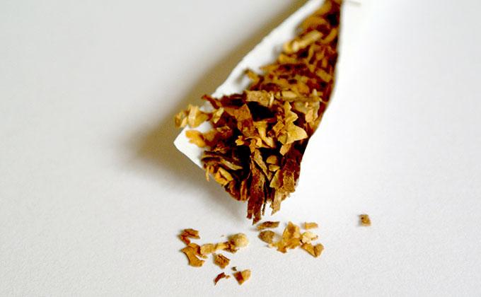 煙草の葉の色