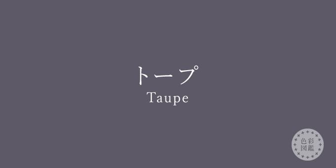 トープ(Taupe)の色見本