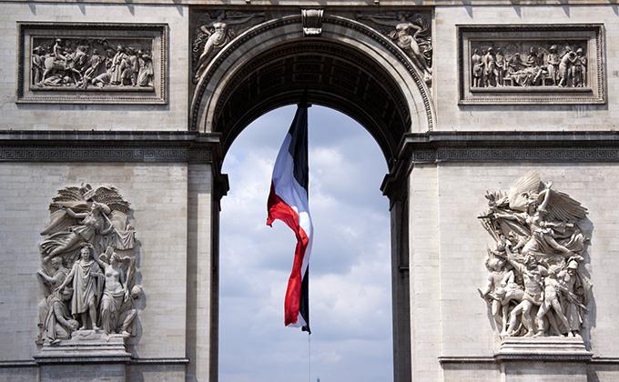 フランスの色