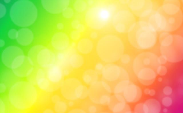 虹色のイメージ