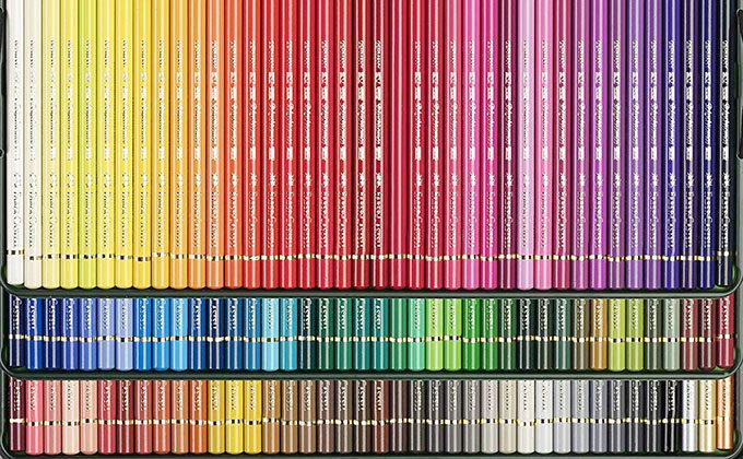ファーバーカステル「ポリクロモス油性色鉛筆」の色一覧【120色】