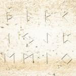 ルーン文字の石版