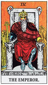 the_emperor タロットカードの赤の意味