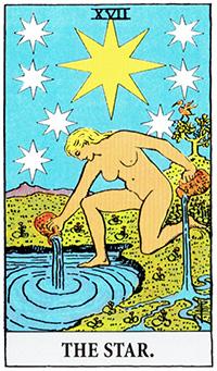 the_star タロットカードの青の意味