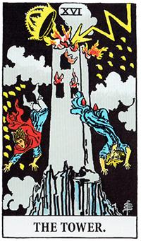 the_tower タロットカードの黒の意味