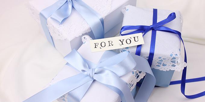 バレンタインの青のイメージ