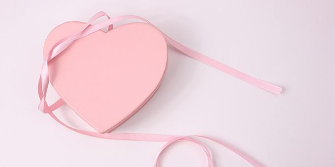 バレンタインのピンクのイメージ