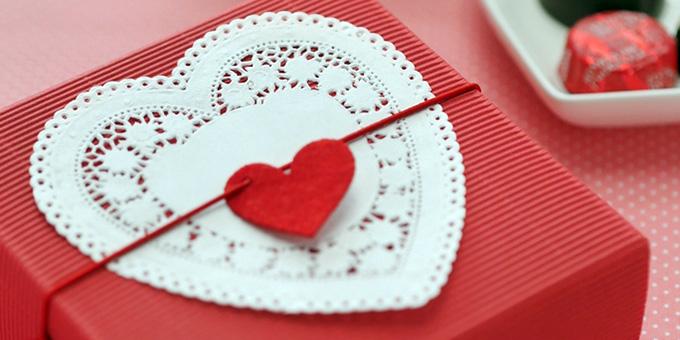 バレンタインの赤のイメージ